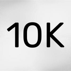Oro blanco 10Kt