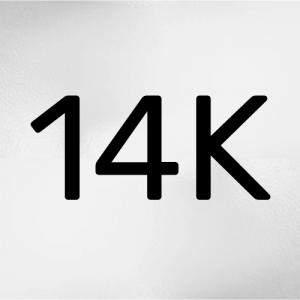 Oro blanco 14Kt
